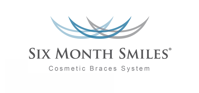 Six Month Smiles logo at dentist office in Victorville, CA.